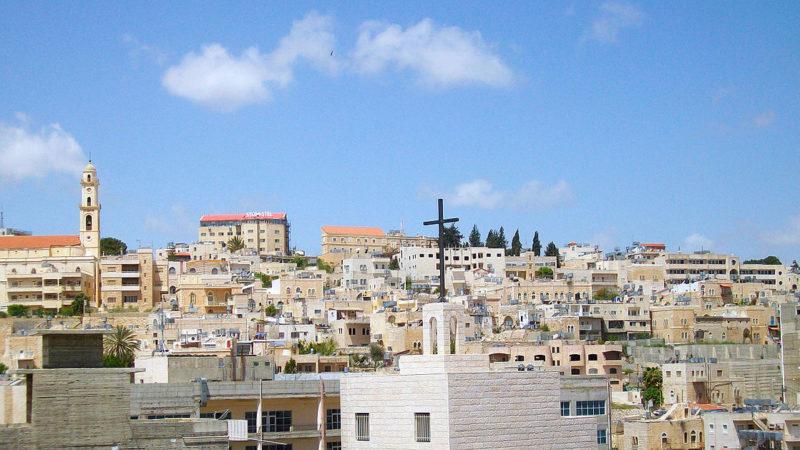 Auch kein Weihnachtsfrieden: Als Israel Bethlehem abgab
