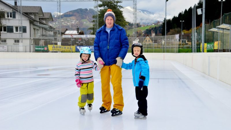 Rankler Eislaufplatz eröffnet Saison