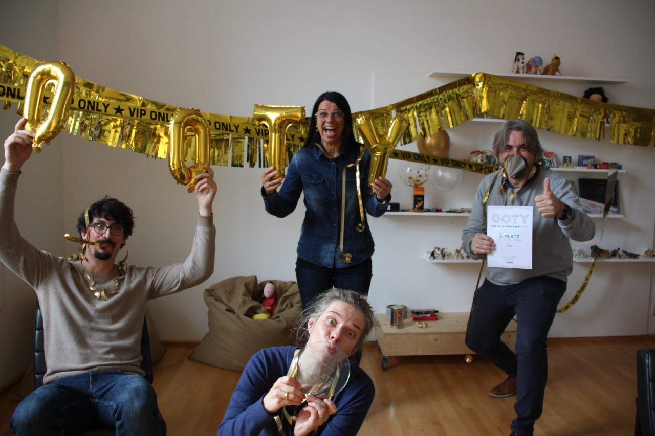 """Auszeichnung für PINA in Feldkirch: """"Office of the Year"""""""