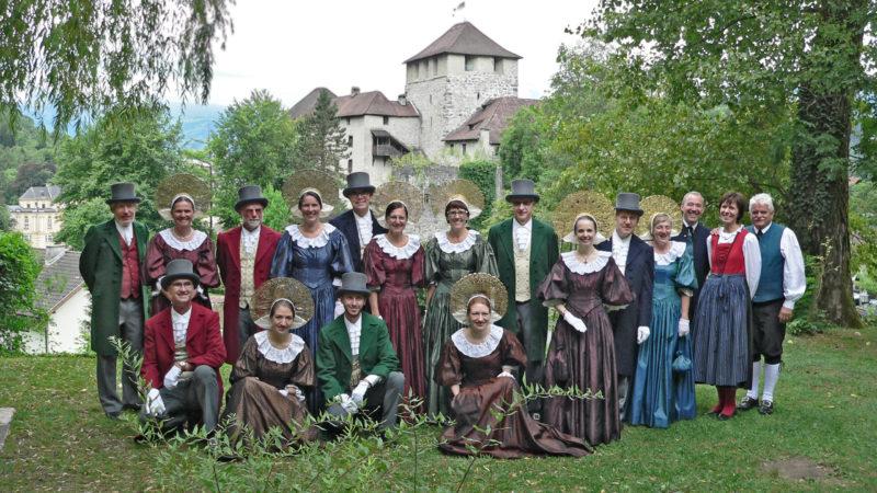 Brauchstumpflege und Kathreintanz: Trachtengruppe Feldkirch