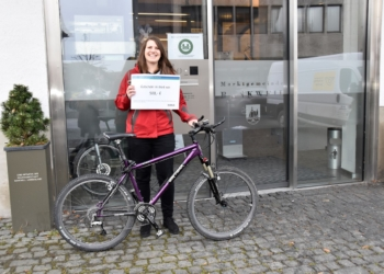 Stefanie Sturn darf sich über einen 500-Euro-Gutschein freuen.