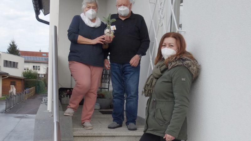Überraschung für Senioren des Rankweiler Mittagstisches