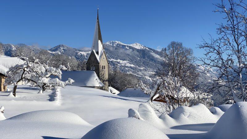 Winterwonderland Vorarlberg: Die schönsten Impressionen des Winters