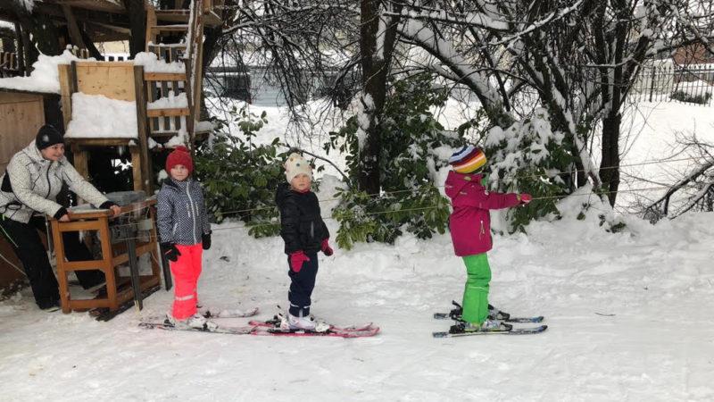 Kerstin Köck: Schnee macht erfinderisch – Wie aus einer Nähmaschine ein Skilift wurde