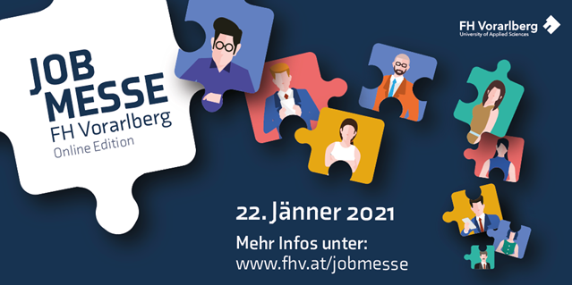 JOBMESSE 2021 – Online Edition am 22. Jänner 2021