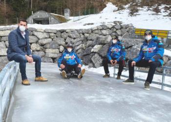 Bludenzer Besichtigung Eiskanal