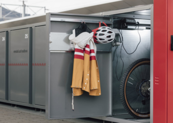 Fahrradboxen Bahnhof Lauterach