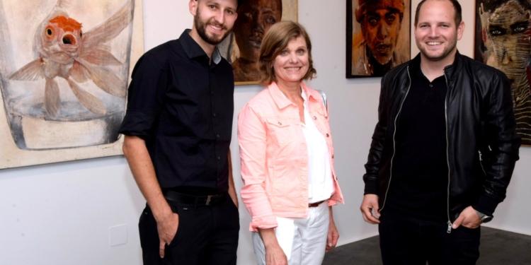 Clemens Walser und Stefan Finžgar begrüßten Landesstatthalterin Barbara Schöbi-Fink. © Scopoli