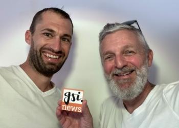 Bandi Koeck traf Starfotograf Christian Holzknecht, der Gsi.News in Frastanz besuchte