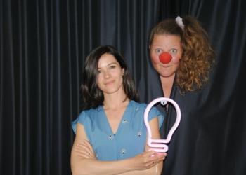 Jenny Dietrich und Lisa Suitner