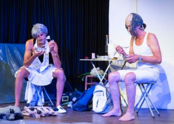 Bandi Koeck und Thomas Rauch live on stage. © Richard Mayer